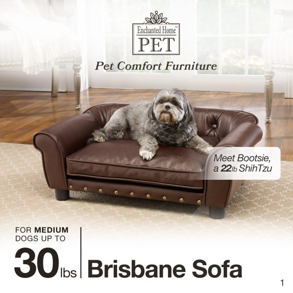 Brisbane Tufted Bed - Pebble Brown
