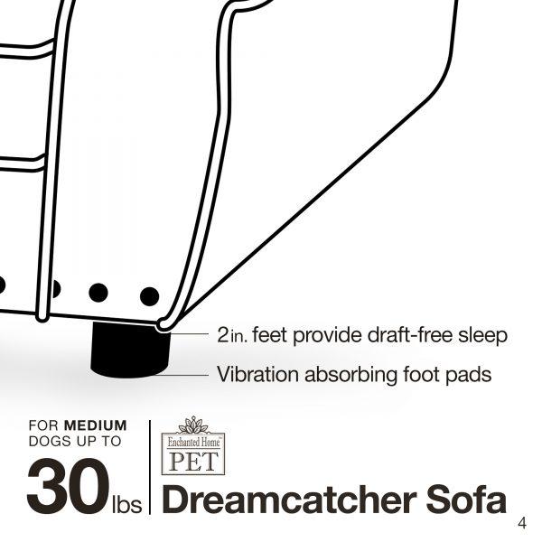 Dreamcatcher Velvet Pet Sofa