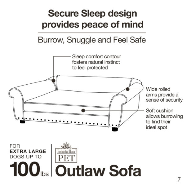 Ultra Plush Outlaw Bed