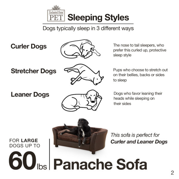 Ultra Plush Panache Pet Sofa