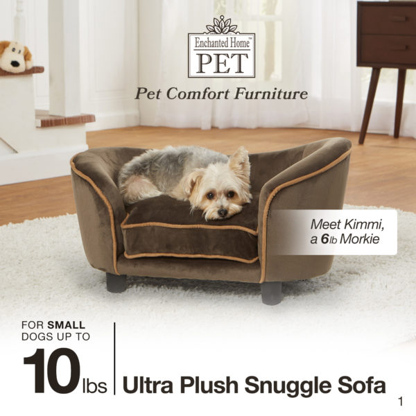 Ultra Plush Snuggle Bed-Pebble