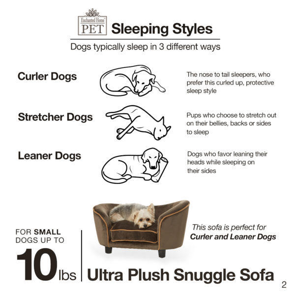 Ultra Plush Snuggle Pet Sofa
