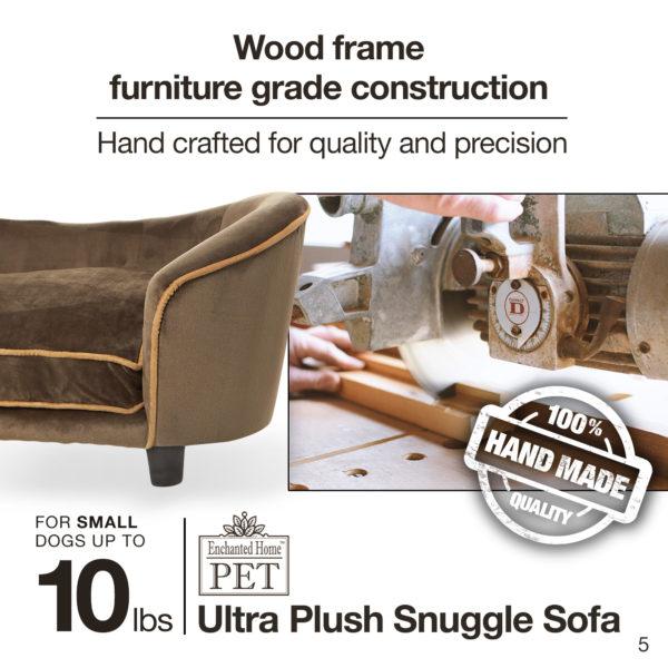 Ultra Plush Snuggle Pet Sofa