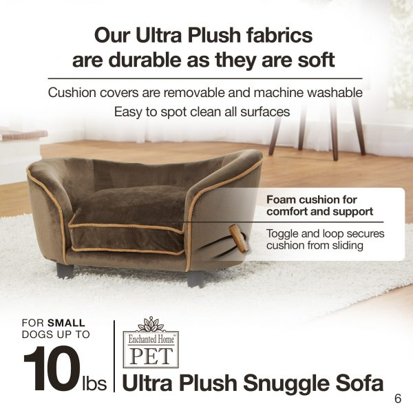 Ultra Plush Snuggle Bed-Basketweave - Black